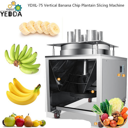 Ydxl-75 Wholesale Vertical Lemon Cucumber Strawberry Slicing Machine Plantain Onion Potato Multifunctional Slicer Commercial Large-scale Factory Direct Sales Vegetable Cutter
