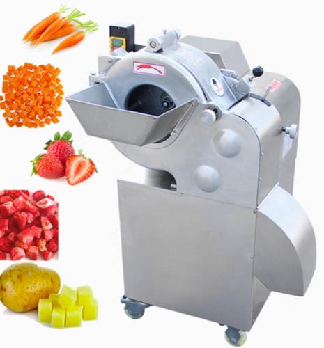 Ydc-500 Factory Price Pickle Cucumber Mango Persimmon Dicing Machine Dragon Fruit Dice Cutter Machine Frozen Pineapple Cube Cutting Machine