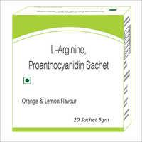 L-Argine Proanthocyandin Sachet