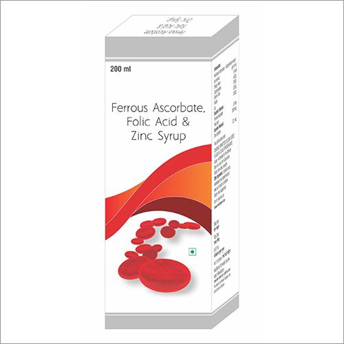 Ferrous Ascorbone - Folic Acid and Zinc Syrup