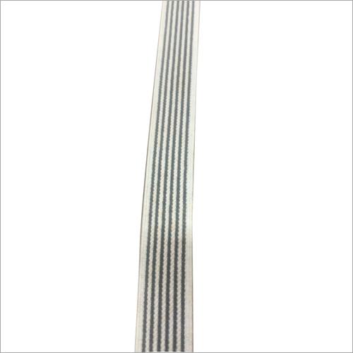 Striped Woven Shoe Elastic Tape