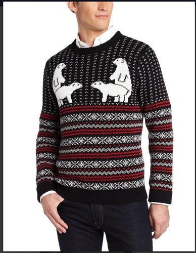 Men's casual sweater