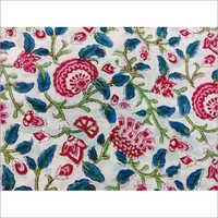 Hand Block Designer Print Cotton Fabric