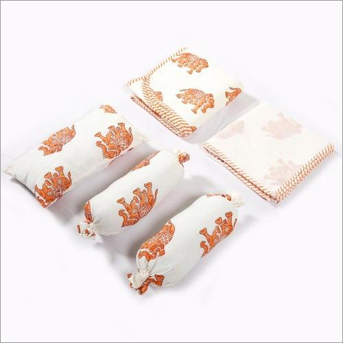 Elephant Printe Baby Bedding Set