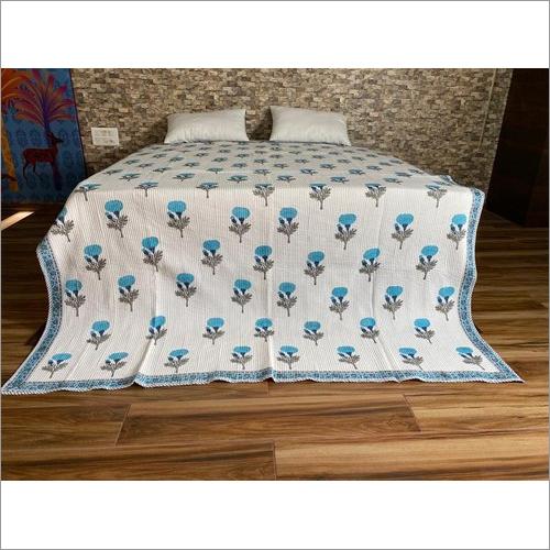 Hand Block Machine Quilt Comforter