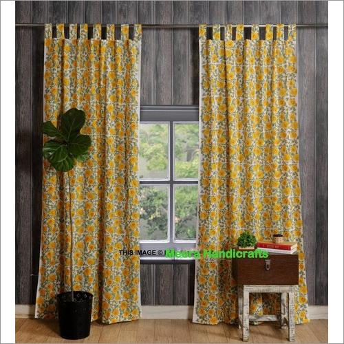 Designer Print Curtain