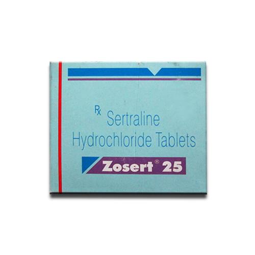 ZOSERT 25 (SERTRALINE HYDROCHLORIDE 25MG)
