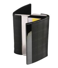 Leatherette Two Sided Card Holder
