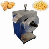 FRC-300 Wholesale Automatic Potato&Carrot&Taro&Sweet Potato Papaya Tubers Bamboo Turnip Chips Cutter Machine