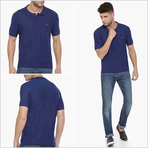 Blue Force Nxt Polo Neck T Shirt