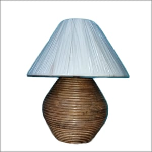 Wooden Handicrafted Lamp