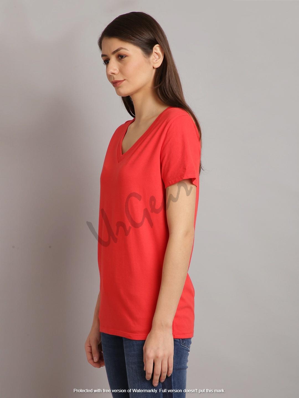 Womens V Neck T-Shirt