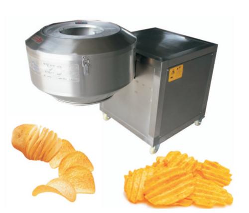Gr-cp1200 Factory Price Drum Potato Crinkle Chip Slicing Machine