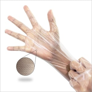 Thermoplastic Elastomer Double Textured Gloves For Food Handling