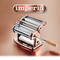 Imperia Pasta Machine Rose Gold Finish RAME 150 mm With Attachment T 2/4
