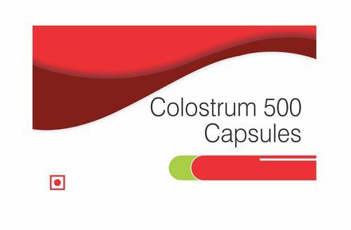 Colostrum 500 Capsules