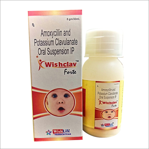 Amoxycillin And Potassium Clavulanate Oral Suspension IP 01