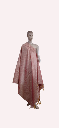 Fringes With Printed  Dupatta
