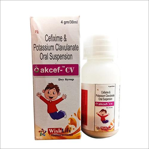 Cefixime And Potassium Clavulanate Oral Suspension