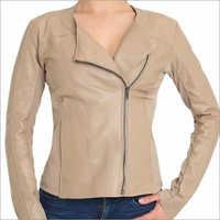 Ladies Pure Leather Jacket