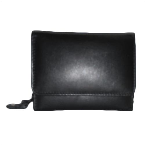 Ladies Black Leather Pouch