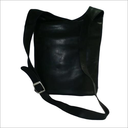 Black Leather Hand Bag
