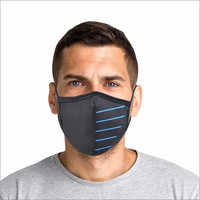 Tron Black And Blue Masks