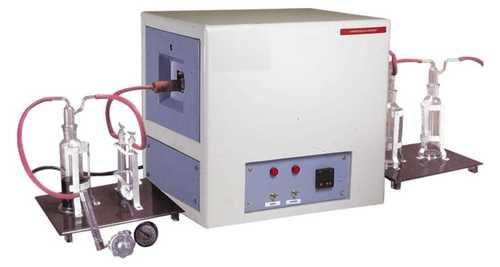 Carbon Black Testing Machine with gas flow meter