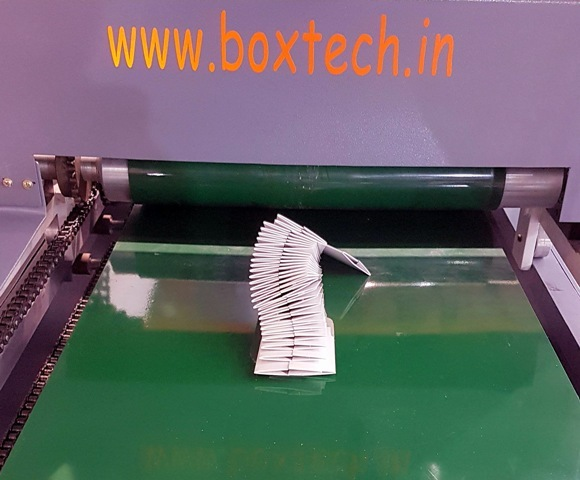 Bt--45 Velocity Crash Lock Bottom Carton Folding Gluing Machine