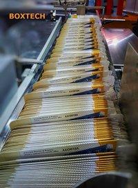 Carton Folding Gluing machine