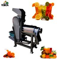 HTC-1.5 Wholesale Mango Screw Type Juicer Crushing Screw Vegetable Fruit Orange Extractor Machine