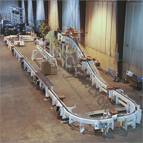 Inverted Floor Conveyors Towline
