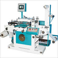 Roll To Roll Flatbed Die Cutting Machine