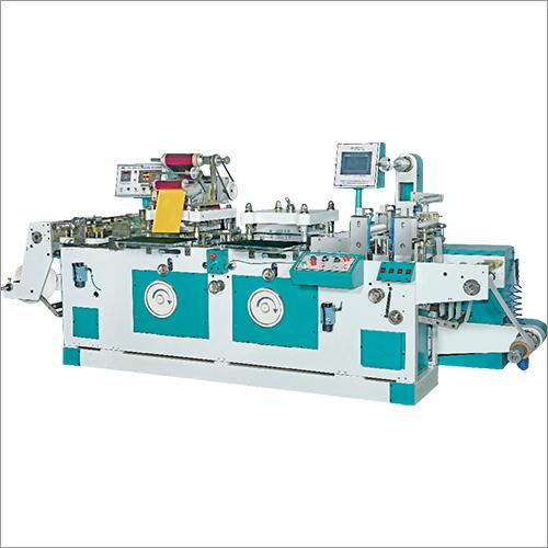Roll To Sheet Flatbed Die Cutting Machine