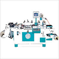 Industrial Roll To Sheet Flatbed Die Cutting Machine