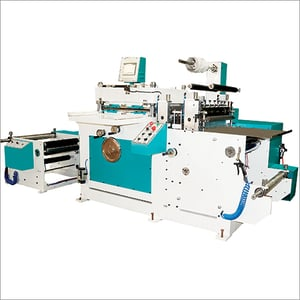 Automatic Roll To Sheet Flatbed Die Cutting Machine