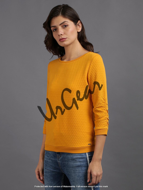 Trendy Women Round Neck Sweatshirt