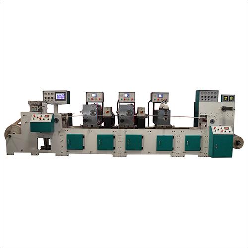 2 Colour - 1 Die Intermittent Flexo Printing Machine