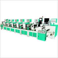 5 Colour - 1 Die Intermittent Flexo Printing Machine