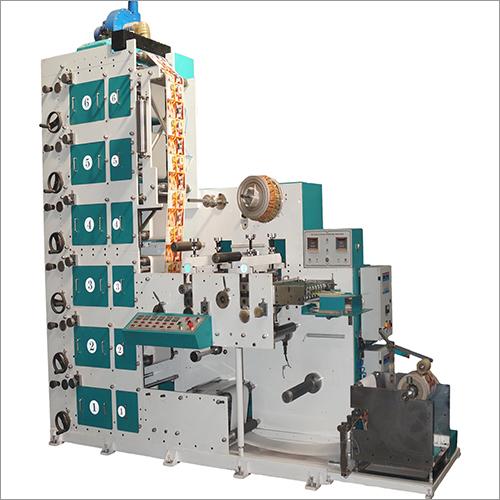 6 Colour-2 Die Vertical Tower Printing Machine