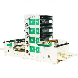 4 Colour Paper Cup Printing Machine