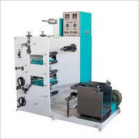 2 Colour 1 Die Micro Flexo Printing Machine