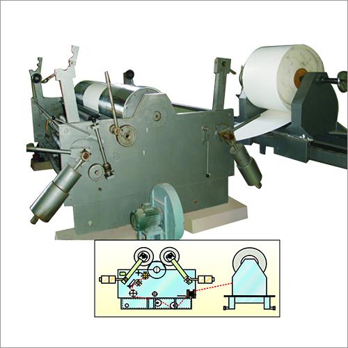 Drum Adhesive Label Stock Slitter Machine