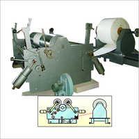 Adhesive Label Stock Slitter Machine