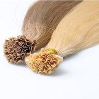 Keratin Nail Tip Human Hair Extension