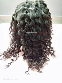 Jerry Curl Lace Wig