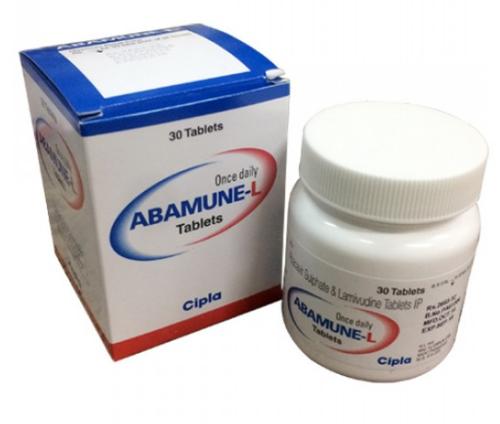 ABAMUNE L(ABACAVIR600MG+LAMIVUDINE 300MG)