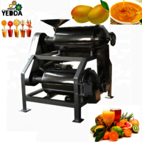 SG2-0.5T Wholesale Price Fruit strawberry berry cherry Beating Pulping Machine Passion Fruit Pulping Machine juice maker For Sale