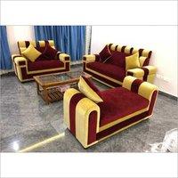 Designer Velvet Sofa Set