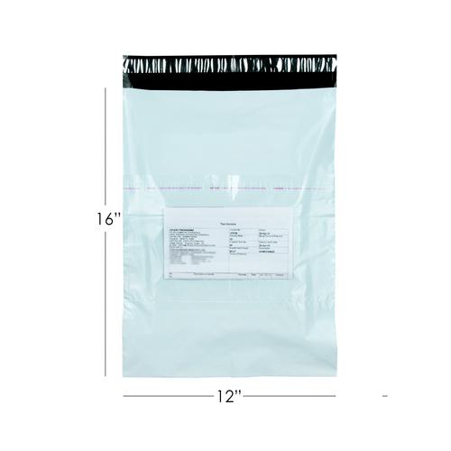 plain Courier Bag 12x16 , with pod-50 micron